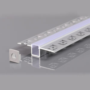 ALUMINIUM PROFILE FOR LED STRIP GRAY L=2m 21.3x26x12.6mm