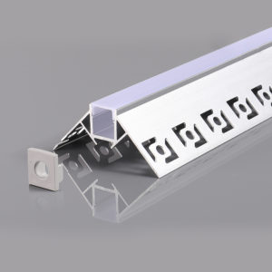 ALUMINIUM PROFILE FOR LED STRIP GRAY L=2m 53x25mm