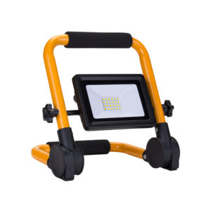 20W LED PORTABLE SMD FLOODLIGHT 1600LM 3M CABLE 6000K - IP65
