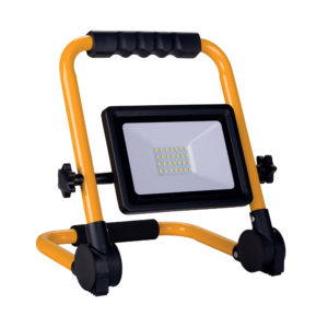 30W LED PORTABLE SMD FLOODLIGHT 2400LM 3M CABLE 6000K - IP65