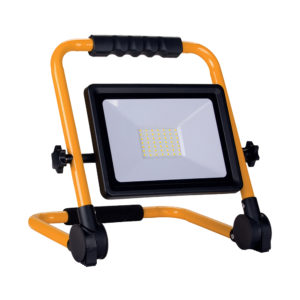 50W LED PORTABLE SMD FLOODLIGHT 4000LM 3M CABLE 6000K - IP65